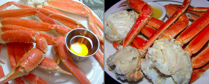 Main Street Cafe Crab Legs