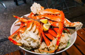 Steamers Seafood in Coligny Plaza Crab Legs