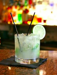 drink from Cowboy on Hilton Head