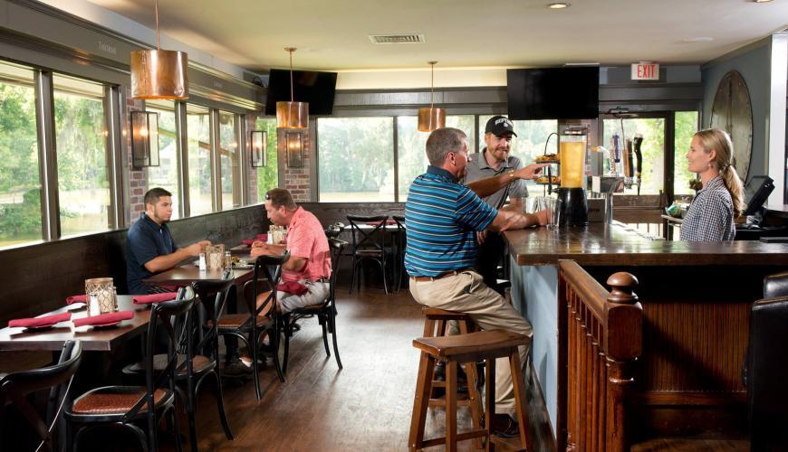 Brickyard Pub in Shipyard Golf Club