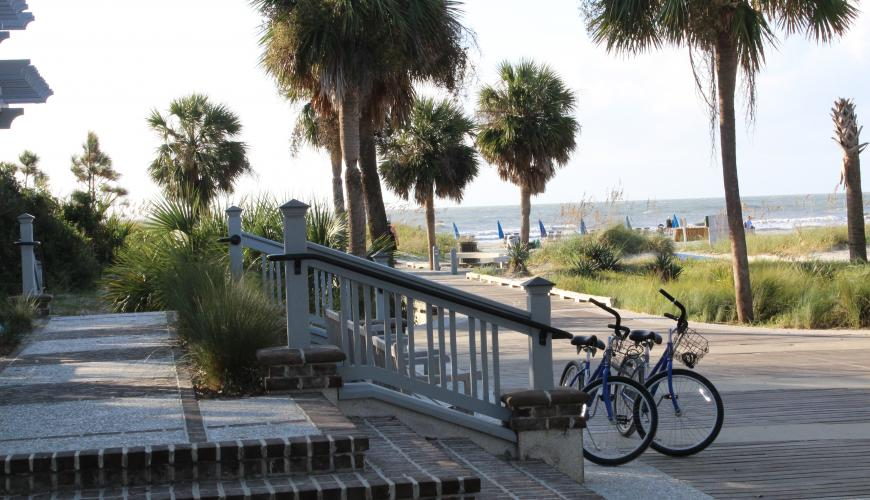 Coligny Beach park area photo courtesy of Town of Hilton Head