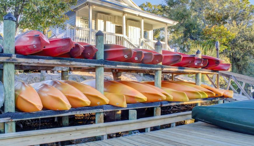 Kayak Rentals at Outfitters