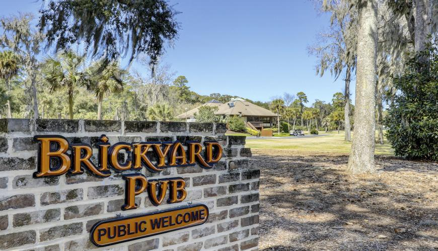 Brickyard Pub at Shipyard Golf Clubhouse