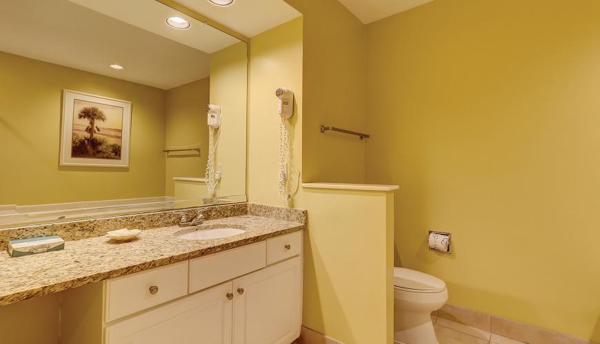 Bathroom with Granite Tops