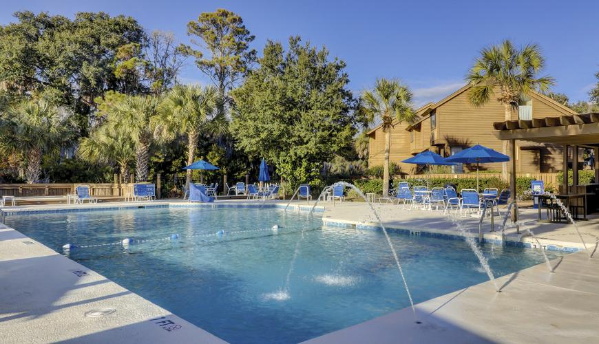 Spinnaker Resort Pool Area
