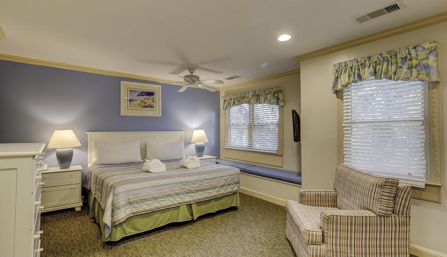 Master Bedroom With Window Boxed Seat