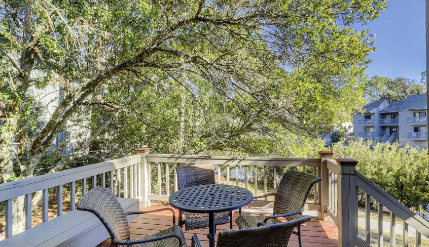 Private Deck with Scenic Views